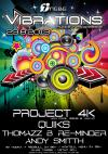 Cover - PROJECT 4K Live @ VIBRATIONS 23-08-2013